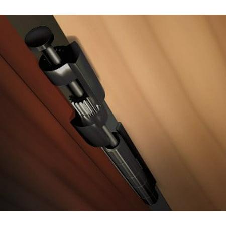DoorSaver 3 Bumperless Hinge Pin Door Stop in Oil Rubbed Bronze Finish