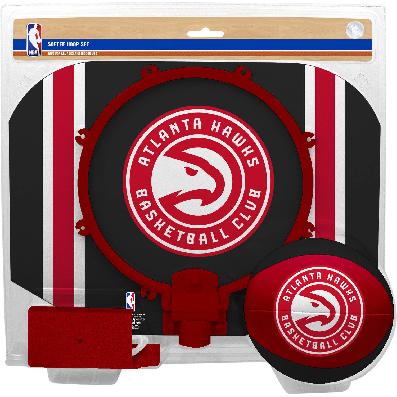 Rawlings NBA Slam Dunk Softee Hoop Set Atlanta Hawks