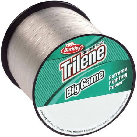 Berkley trilene big game 10 lb fishing line clear for Big game fishing line