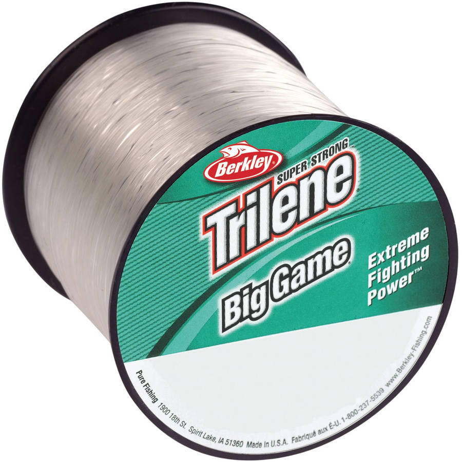 Berkley Model 1068346 Trilene Big Game Monofilament Line Spool