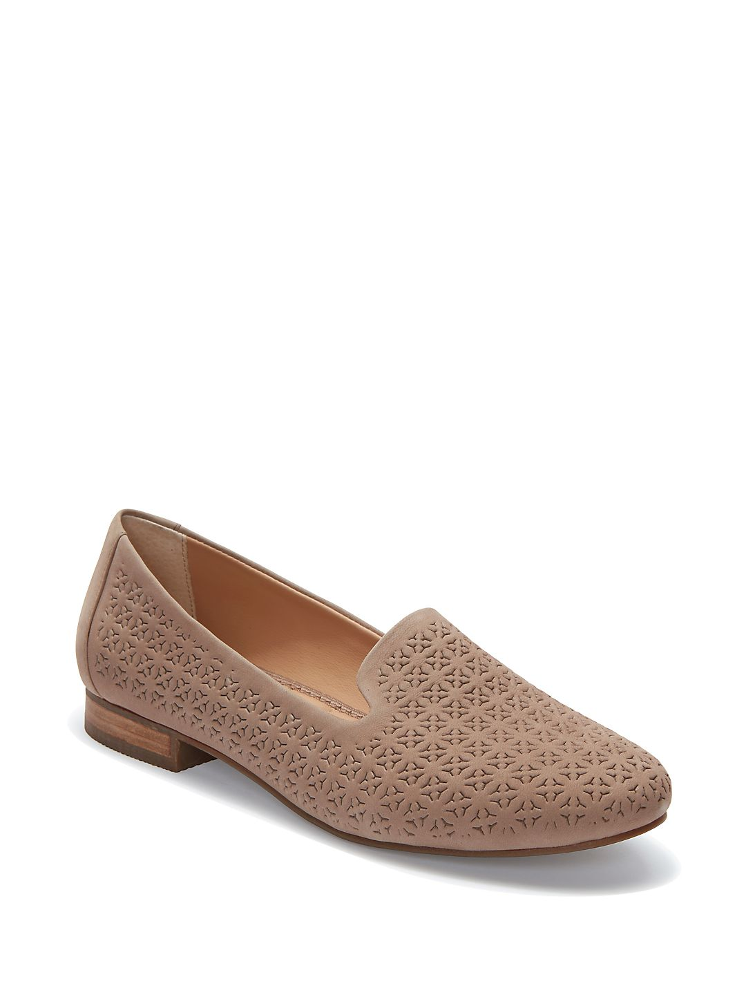 Yani Nubuck Leather Loafers