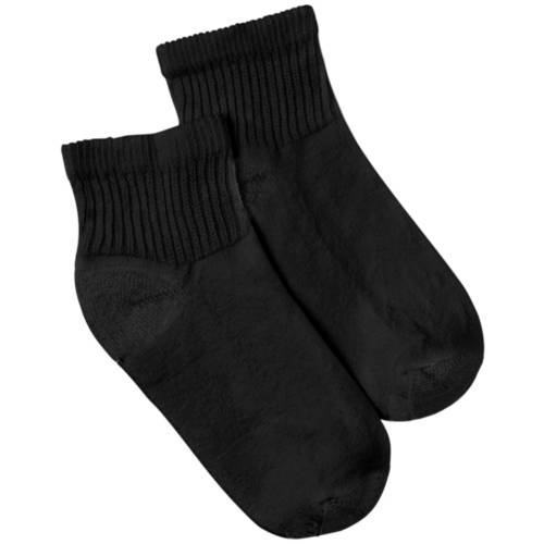 Hanes - Women's Athletic Ankle Socks, 6 Pairs