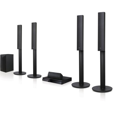 LG Home Theater System 5.1ch 1000W 3D Bluetooth Built-in Wi-Fi (LHB655)