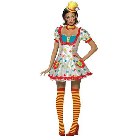 Female Clown Costumes (Clown Female Adult Halloween)