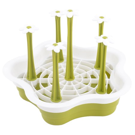 Household Kitchen Plastic Detachable Bottle Glass Cup Drying Tray Holder -