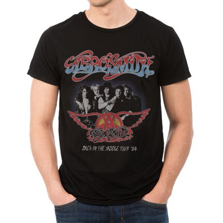 Aerosmith Back In The Saddle Tour T-Shirt