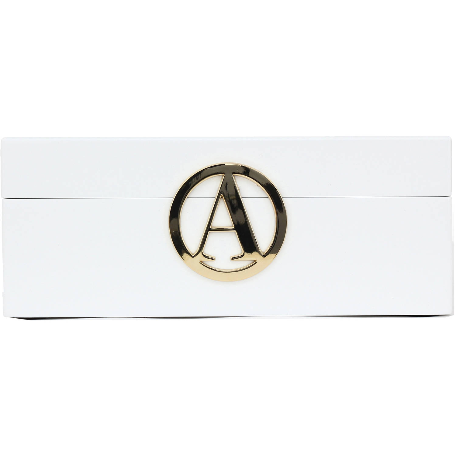 Fashion Acces Bazaar Initial Jewelry Box Ltr A In White Walmartcom