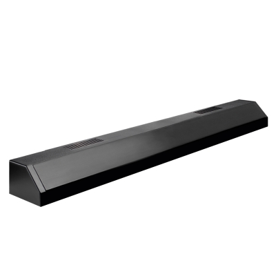 Aqueon Black Fluorescent Single Strip Light, 36 Inch