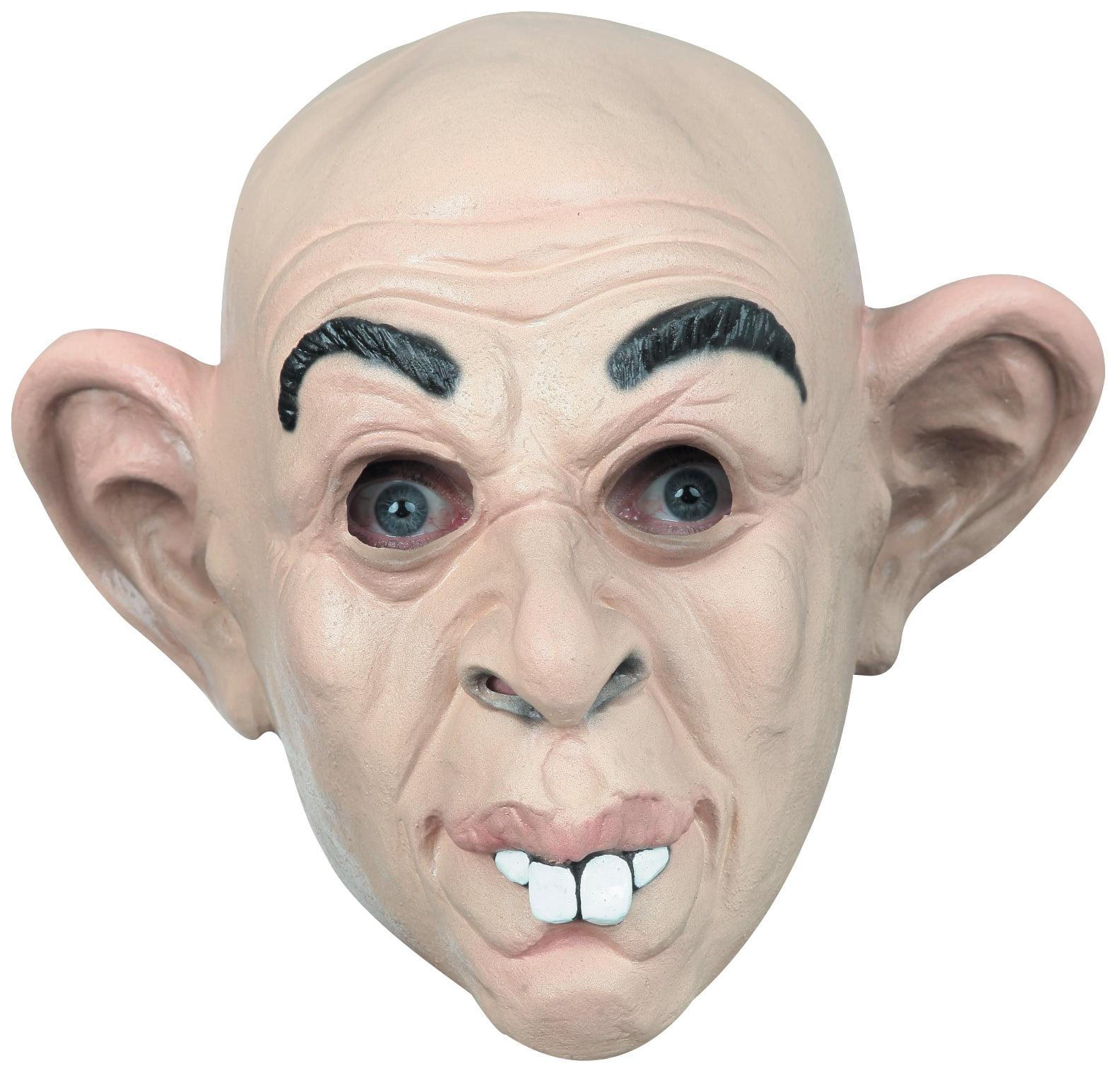 funny jumbo jug ears latex halloween mask adult man big dumbo human