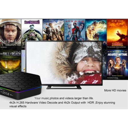 High Quality T95z Plus Android 6 0 Smart Tv Box Amlogic S912 Wifi Octa Core 2Gb Ddr3 16Gb Media Player