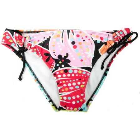 Hobie Women's Designed Tie Hip Swim Bottom