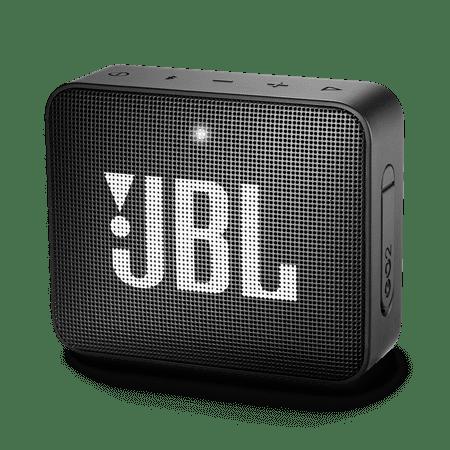 JBL GO 2 Portable Bluetooth Speaker, Midnight Black - Manufacturer Refurbished