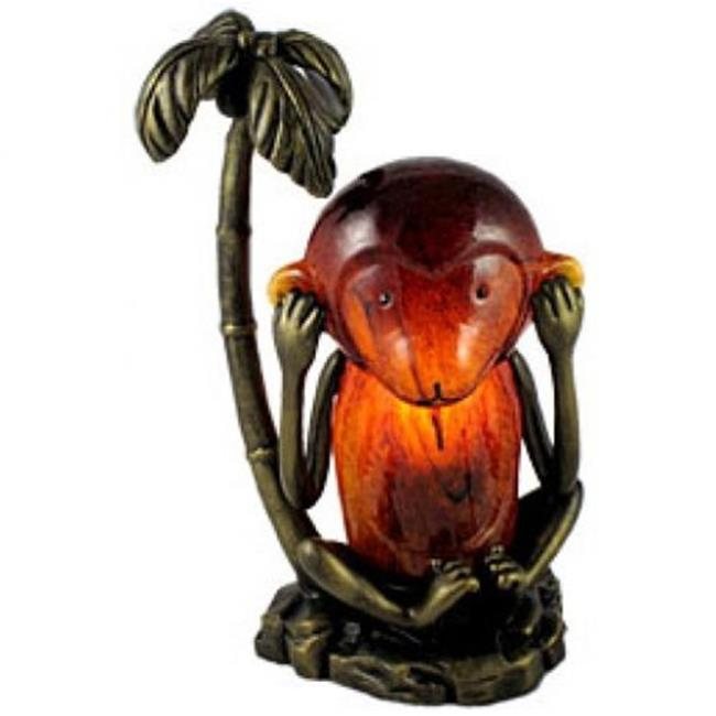 Standard Specialty 1433 Monkey Hear No Evil Table Lamp