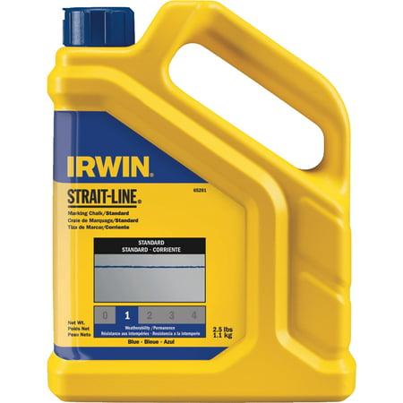 Irwin STRAIT-LINE Standard Chalk Line Chalk