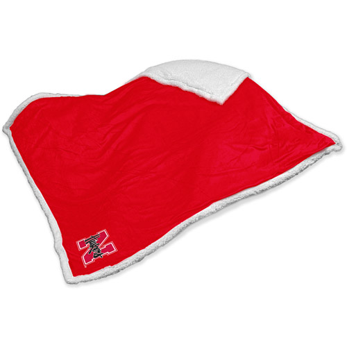 Logo Chair NCAA Nebraska Sherpa Blanket