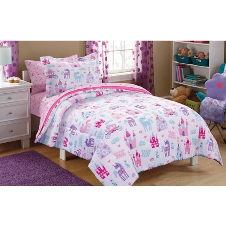 Princess Bed In A Bag Twin Sets