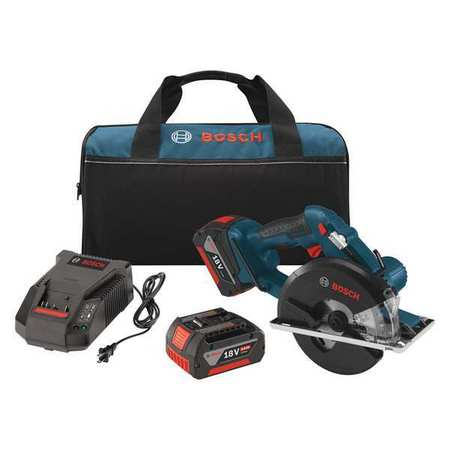 Cordless Circular Saw Kit, Bosch, CSM180-01