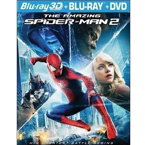 The Amazing Spider-Man 2 (3D Blu-ray + Blu-ray + DVD + Digital HD) (With INSTAWATCH) (Widescreen)