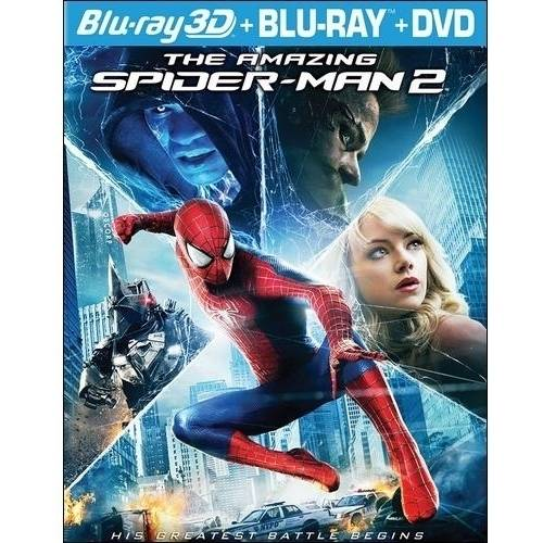 The Amazing Spider-Man 2 (3D Blu-ray + Blu-ray + DVD + Digital HD) (With INSTAWATCH) (Widescreen)