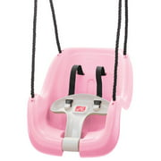 Step2 Infant To Toddler Swing, Durable Weather-Resistant Kids Outdoor Toy Pink