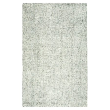 Rizzy Home Brindleton Br350A Green / Ivory Area Rug 9 Feet x 12