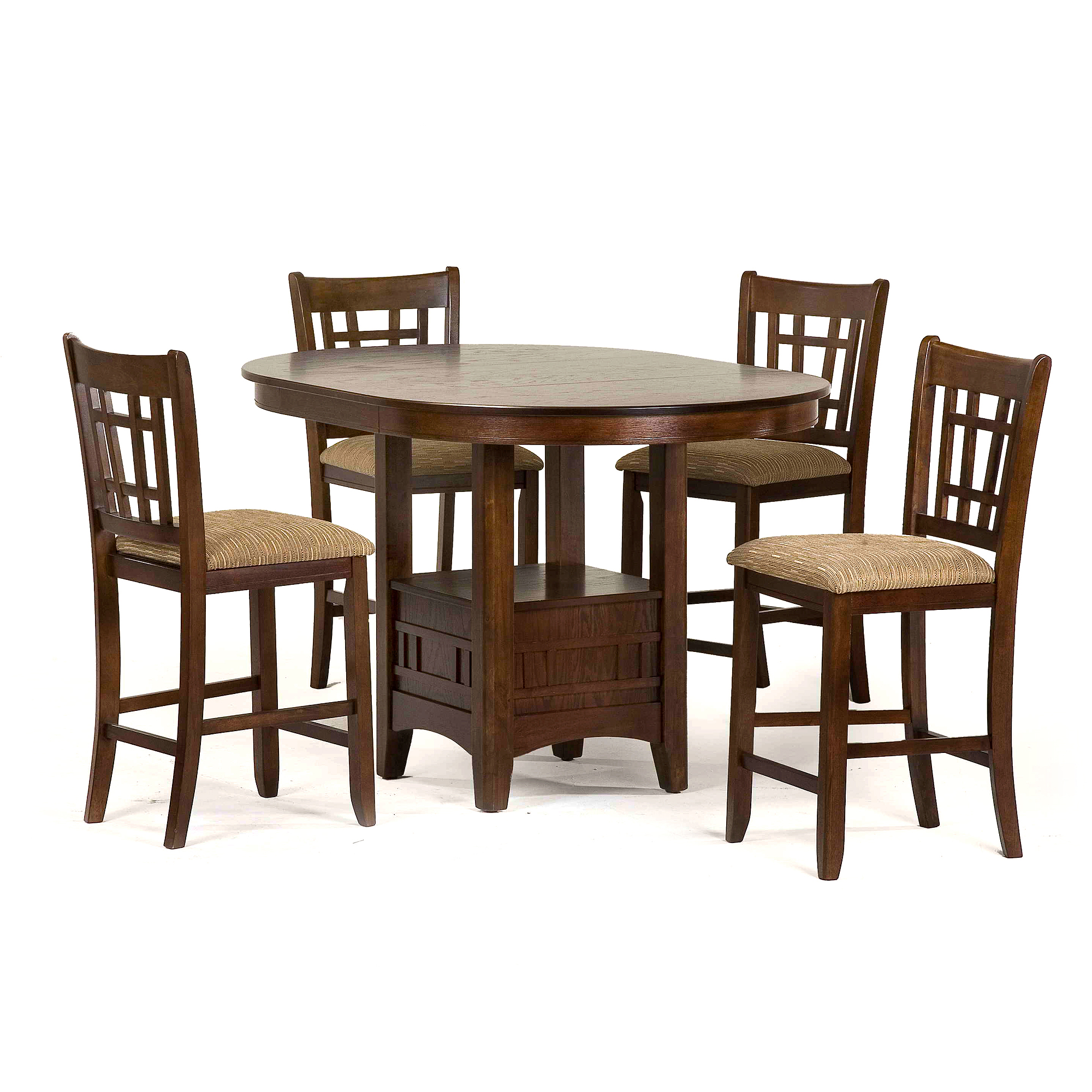 Primo International Melanie Counter Height Dining Chairs, Set of 2, Espresso
