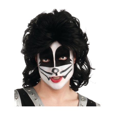Rocky Wig (Child Kiss Peter Criss The Catman Costume Rock Star)