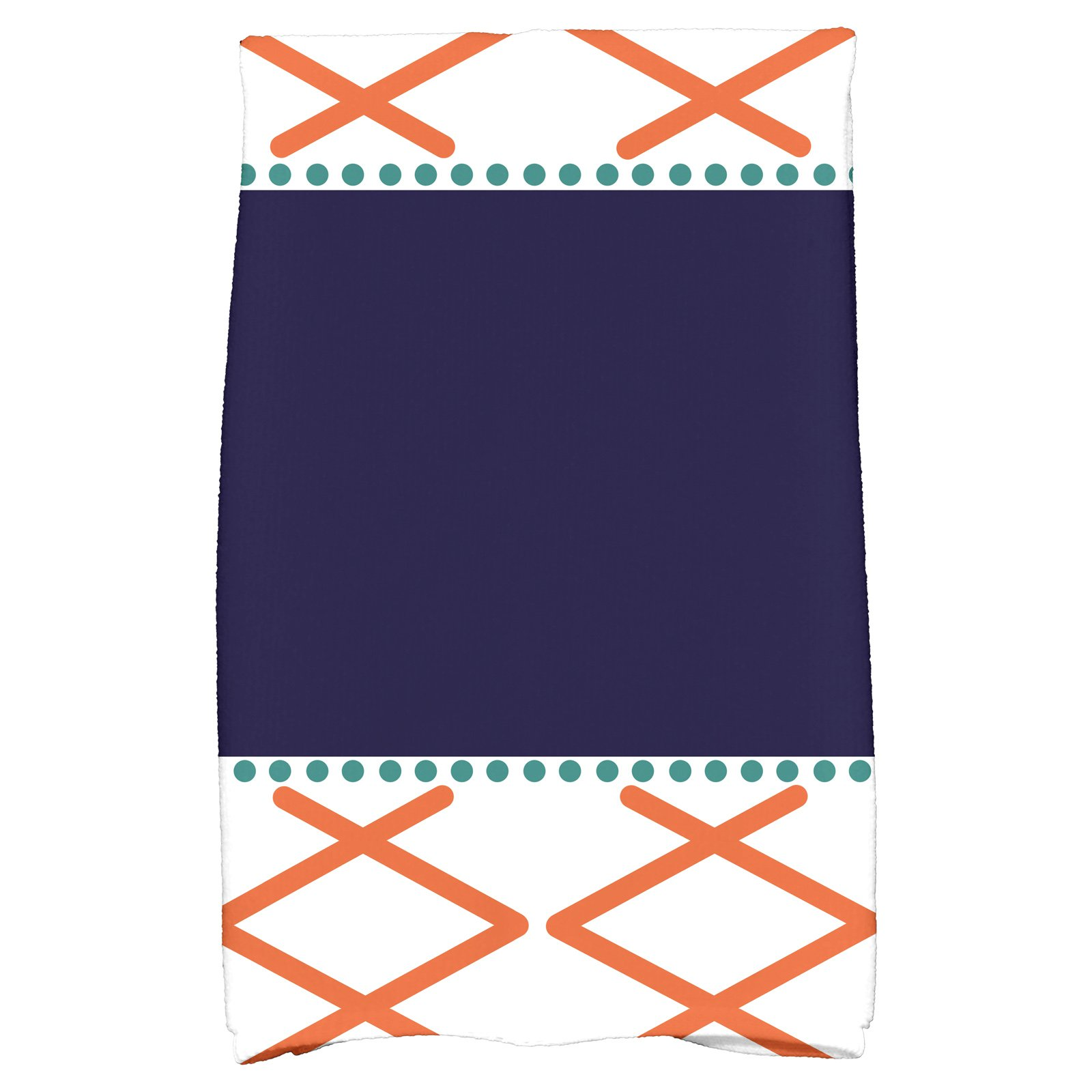 "Simply Daisy 16"" x 25"" Knot Fancy Geometric Print Kitchen Towel by E By Design"