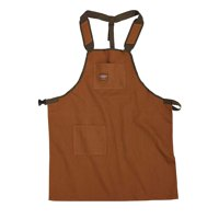 Duckwear SuperShop Work Apron in Brown, 80300, Heavy-duty canvas construction By Bucket Boss