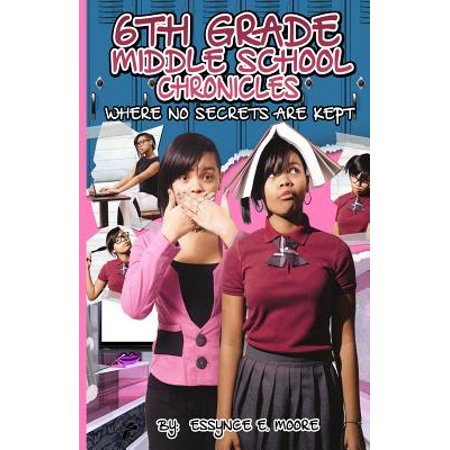 6th Grade Middle School Chronicles : Where No Secrets Are Kept](6th Grade Halloween Art)
