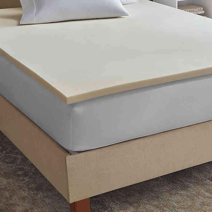Therapedic Sleepsmart 1.5 Inch Memory Foam Full Mattress Topper