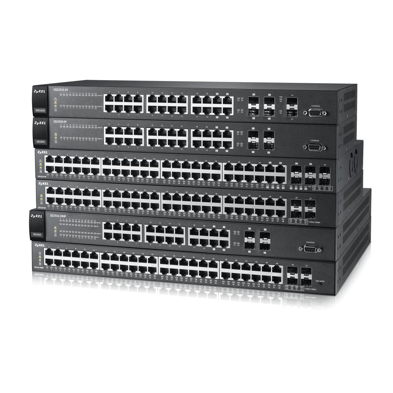 Zyxel Communications XGS1910-24 Xgs1910-24 24-port Gbe by ZyXEL