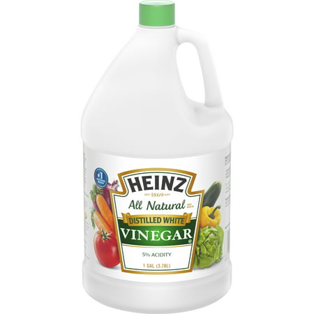heinz all natural distilled white vinegar 1 gal jug walmart com