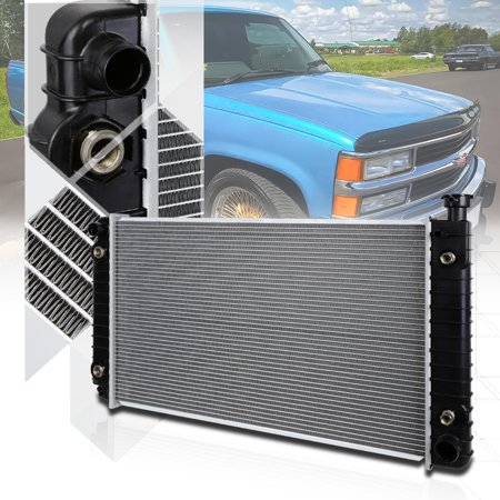 Aluminum Core Radiator OE Replacement for Chevy/GMC C/K CK Pickup Truck AT 622 89 90 91 92 93 -