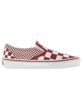 Vans Unisex Mix Checker Slip-On Fashion Sneakers
