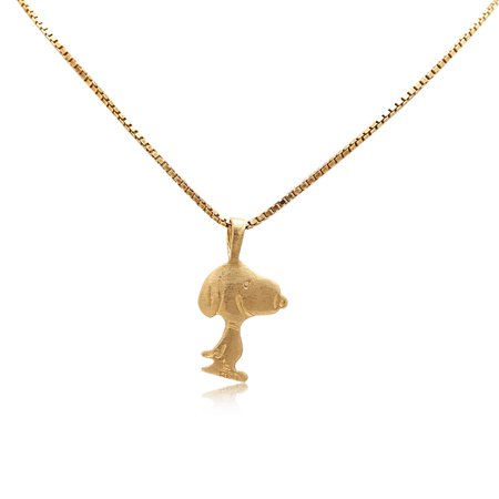 14k Yellow Gold Ballerina Charm - 14K Yellow Gold Snoopy Charm