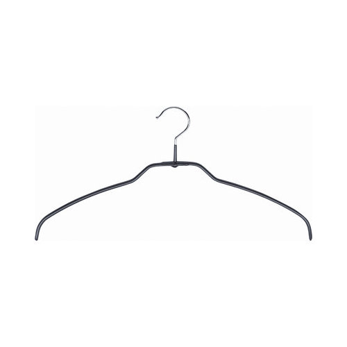 Mawa Mawa Silhouette light 42/FT Hangers in Black (Pack of 24)