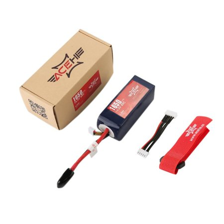 High Voltage ACEHE 14.8V 1650mAh XT60 Lipo Battery For HV Series Quadcopter - image 1 of 4
