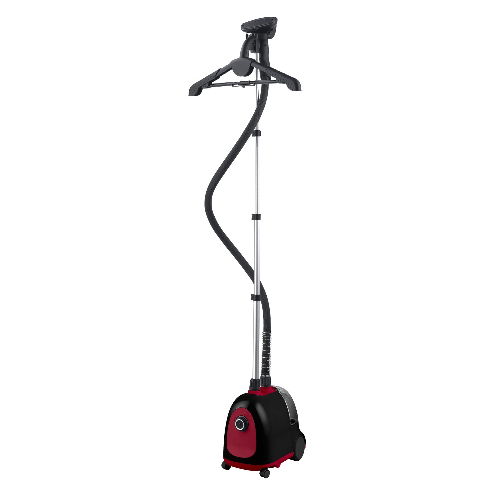 Steam and Go - Professional garment steamer for in home use with accessories included! SAG-12 Red