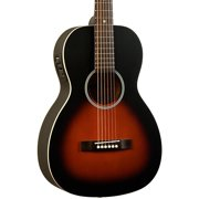 Recording King Dirty 30's RPH-05-FE4 Single 0 Acoustic-Electric Guitar Natural