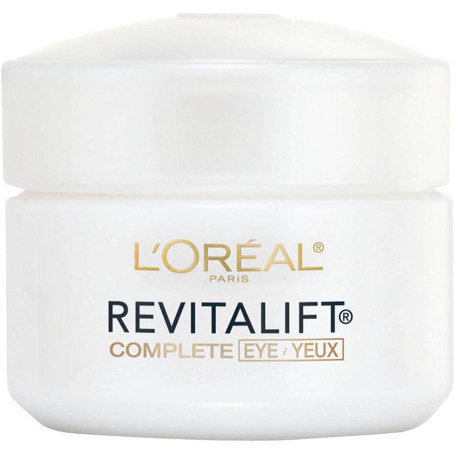 L'Oreal Paris RevitaLift Anti-Wrinkle & Firming Eye Cream, .5 oz
