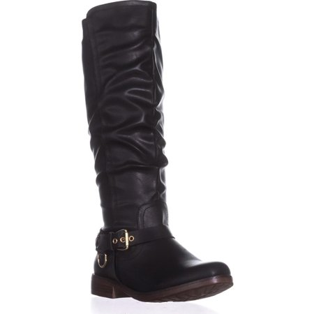 latest fashion 60% cheap get new Womens XOXO Mauricia Wide Calf Riding Boots, Black