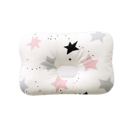 New Infant Anti Roll Sleep Cushion Baby Prevent Flat Head Positioner Pillow Hot