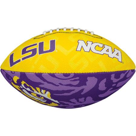 Lsu Tigers Logo Football (LSU Tigers Wilson Junior Team Logo Football - No Size )