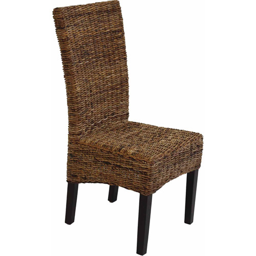 banana leaf parsons chairs set of 2
