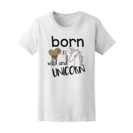 4bf0bbe9 Teeblox - Born To Be Wild And Unicorn Tee Men's -Image by ...