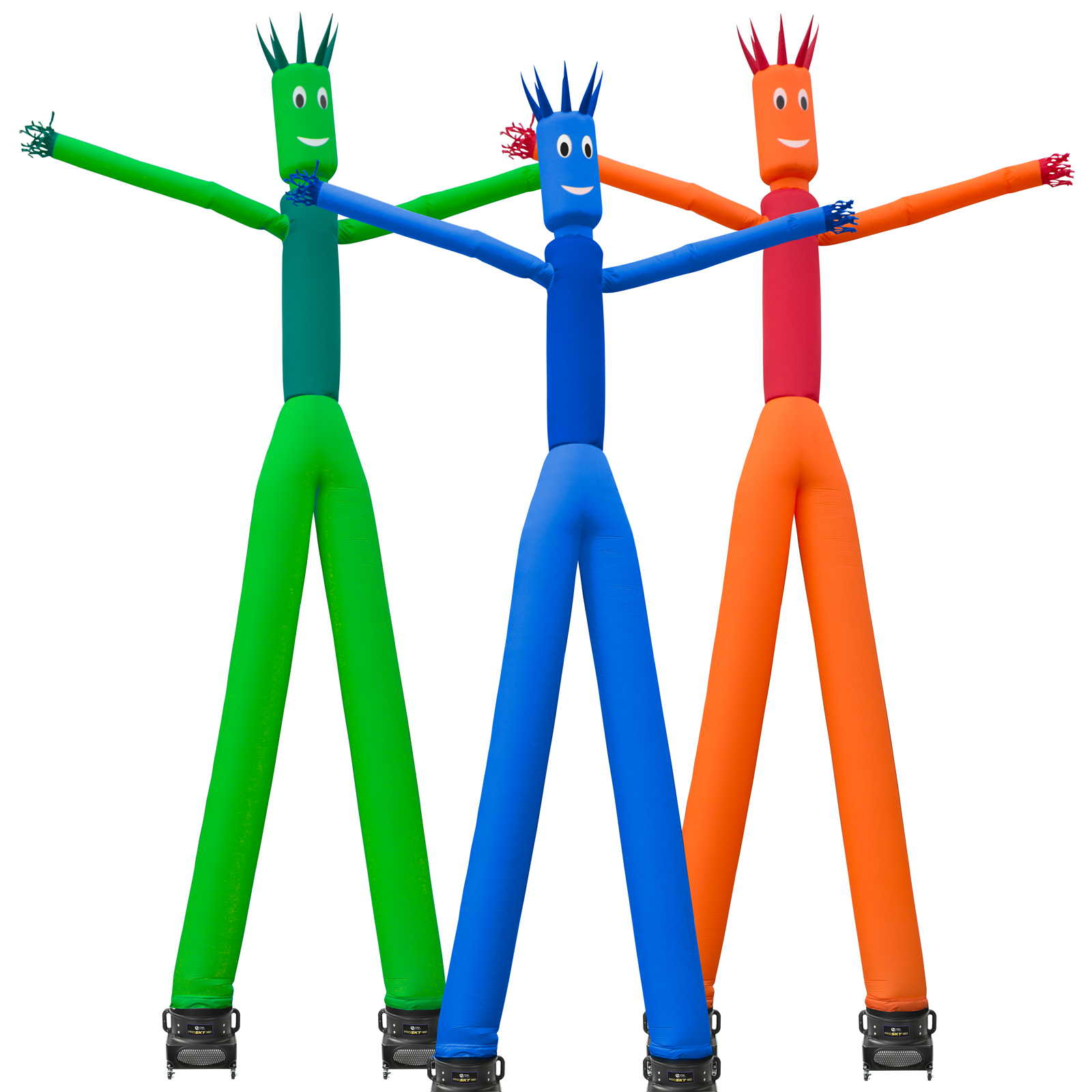 Inflatable HQ 26 ft. Tall Air Inflatable Dancer Tube Puppet Set with Blower Fan - Multiple Colors Available