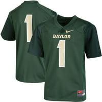#1 Baylor Bears Nike Youth Replica Football Jersey - Green