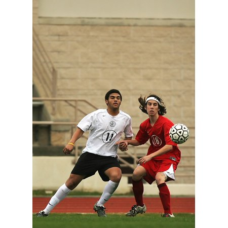 LAMINATED POSTER Soccer Ball Football Game Field Player Sport Poster Print 24 x 36