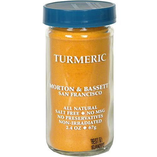 Morton & Bassett Spices Turmeric, 2.4 oz (Pack of 3)
